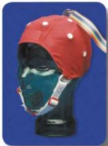 テレメータ用脳波測定用帽子電極セット:BN-EEGCAP-SYS