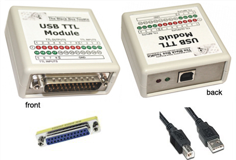 USB-TTL変換アダプタ:USB-TTL